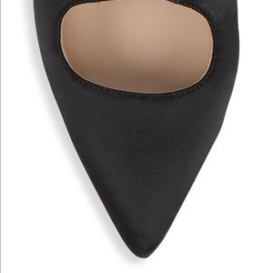 Pour La Victoire Shoes - Pour La Victoire Cerry satin point toe pumps